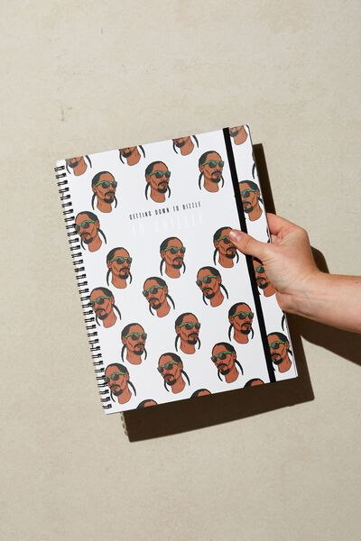 A5 Spinout Notebook Recycled, LCN MT SNO SNOOP FO SHIZZLE