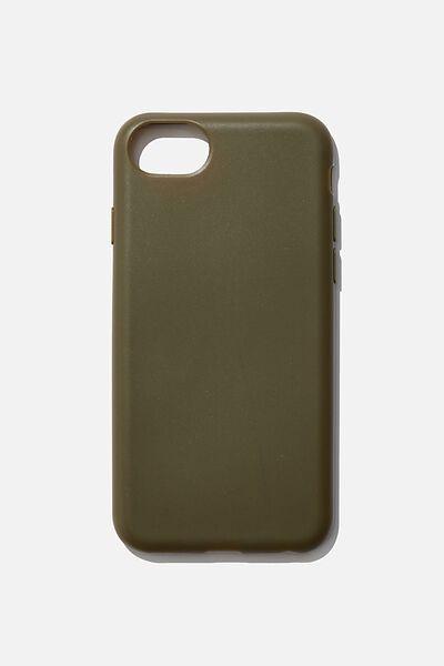 Slimline Recycled Phone Case Iphone SE, 6,7,8, OILSKIN