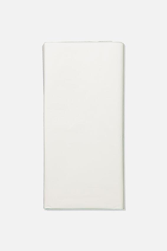 Tissue Paper, WHITE