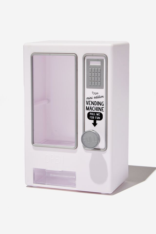 Mini Vending Machine, WHITE MATTE