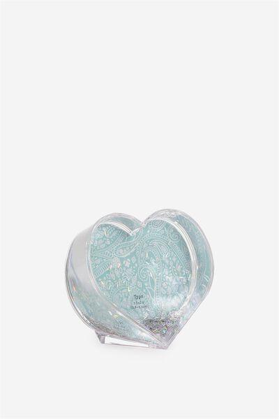 Mini Shake It Photo Frame, HEART