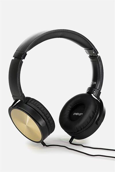 Reverb Headphones, GOLD