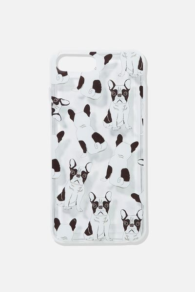 Printed Phone Cover 6,7,8 Plus, FRENCHIE YARDAGE