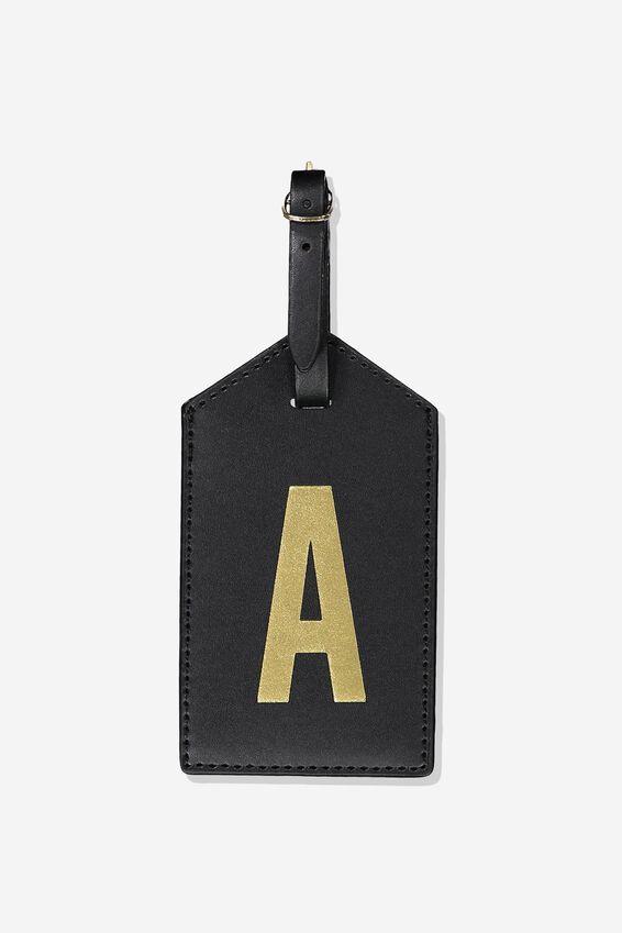 Alpha Luggage Tag, A