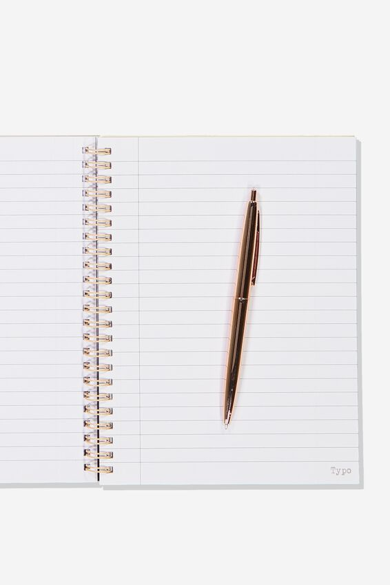 Small Spinout Notebook - V, TO DO LIST JUNGLE FLORAL