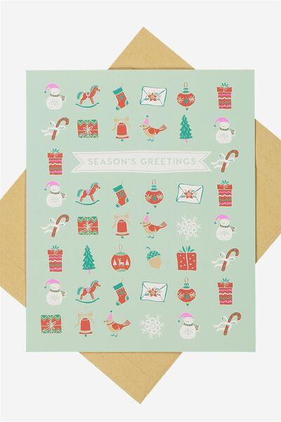 Christmas Cards 2017, SEASONS GREETINGS