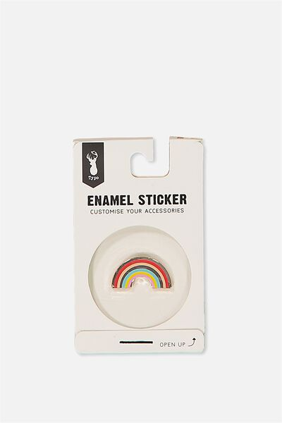 Enamel Stickers, RAINBOW
