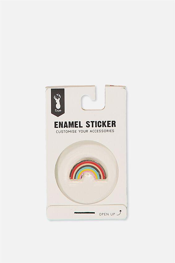 Enamel Stickers, RAINBOW