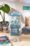 Food Dispenser, DUSTY BLUE