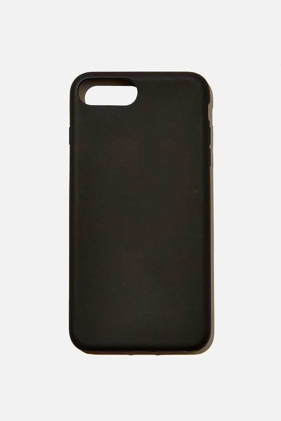 Recycled Phone Case iPhone 6,7,8 Plus, BLACK