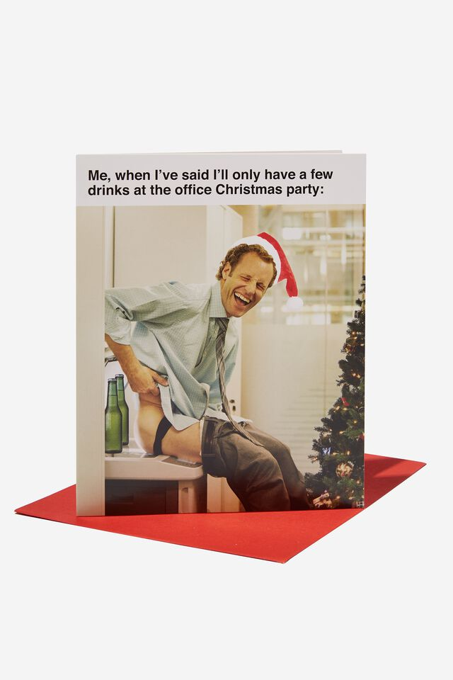 Christmas Card 2021, FEW DRINKS AT THE CHRISTMAS PARTY!