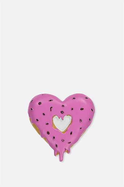 Novelty Resin Magnets, DONUT HEART