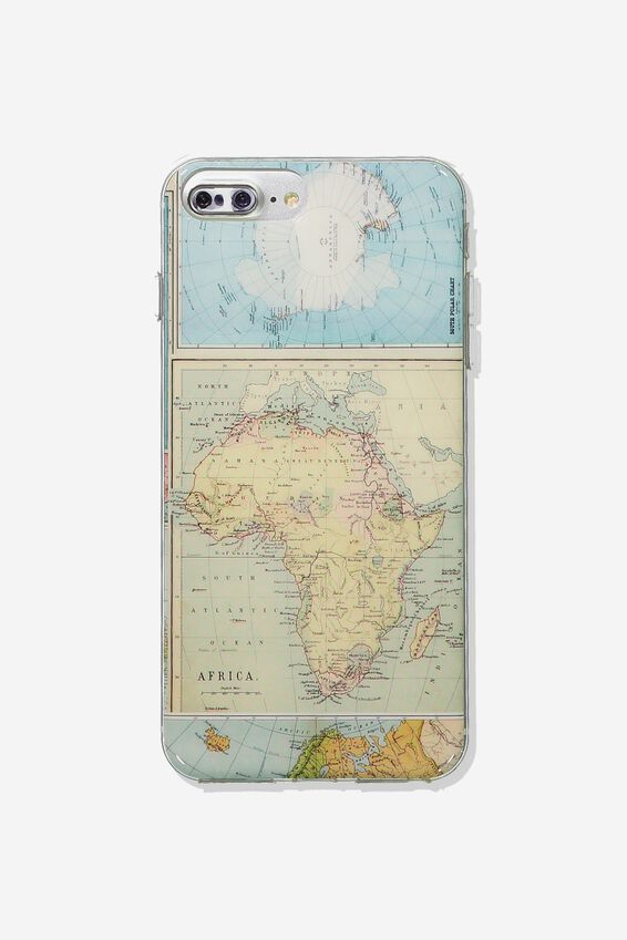 Printed Phone Cover 6,7,8 Plus, MAP