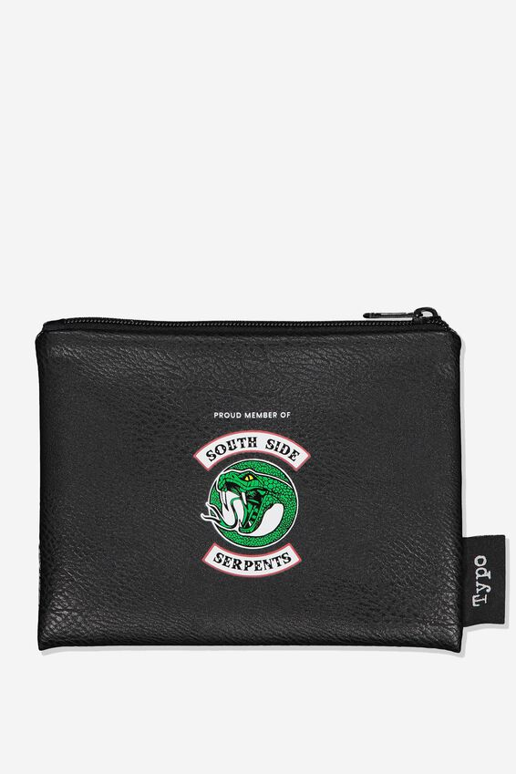 Riverdale PU Campus Pencil Case, LCN WB SOUTH SIDE SERPENTS