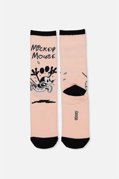 Womens Novelty Socks, LCN ACCORDING TO MICKEY