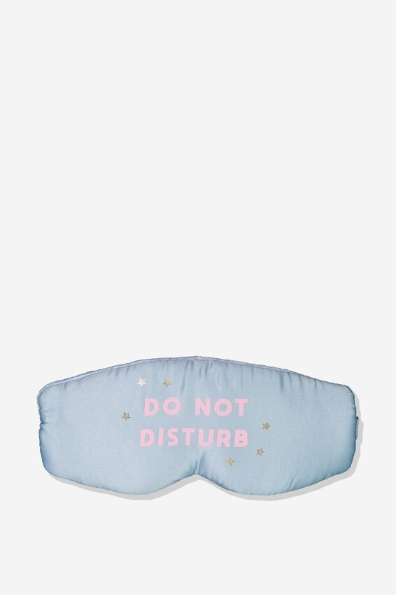 Total Block Out Eyemask, DO NOT DISTURB