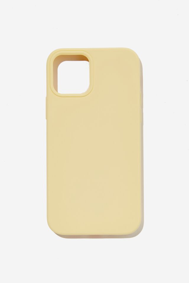 Recycled Phone Case Iphone 12, 12 Pro, SOFT BUTTER