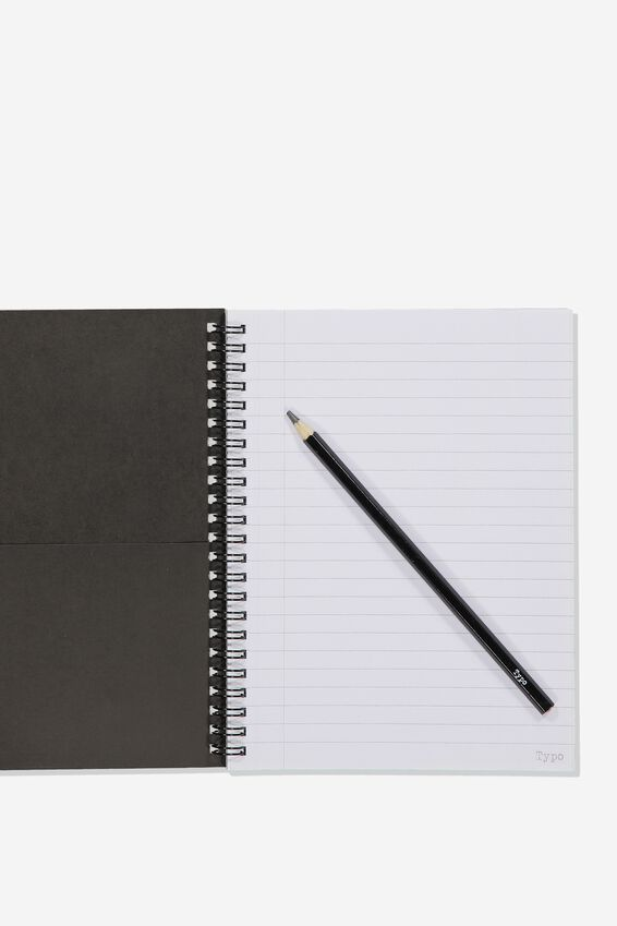 Small Spinout Notebook, STRESSED