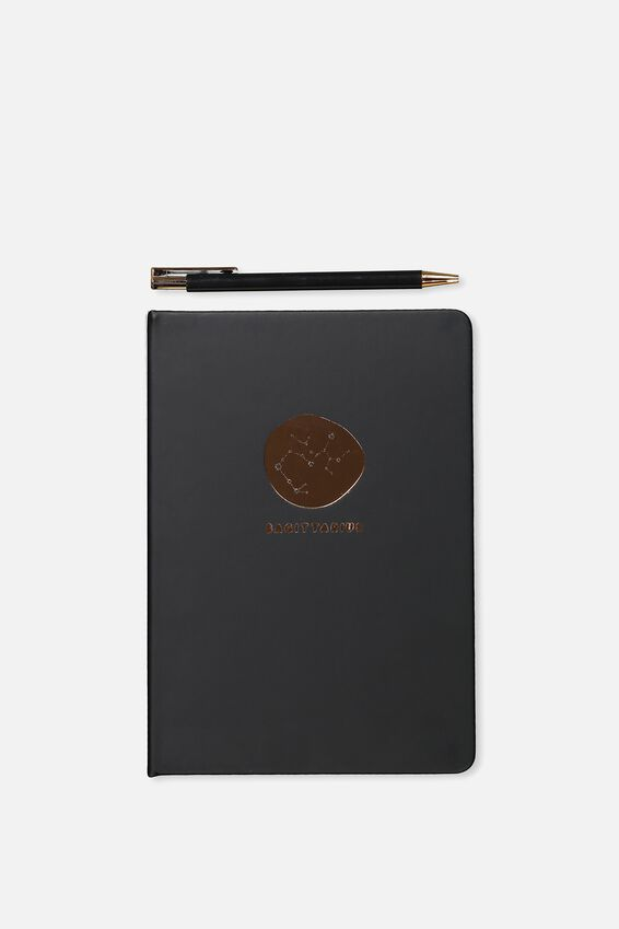 Notebook And Pen Set, ZODIAC SAGITTARIUS