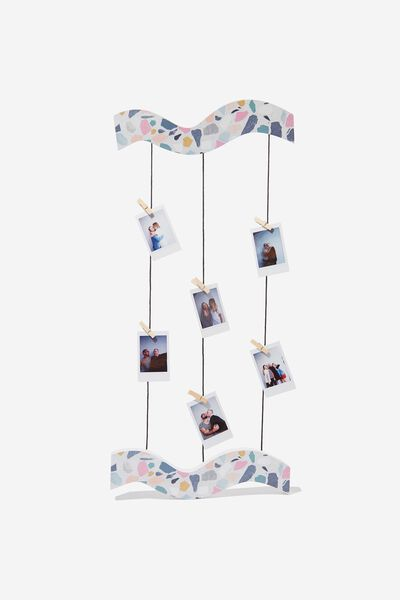 Hanging Photo Kit, TERRAZZO MULTI
