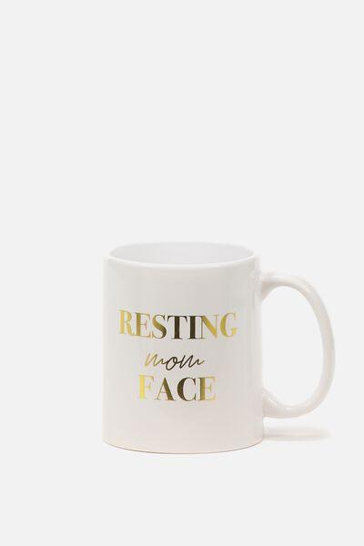 Anytime Mug, RESTING MOM