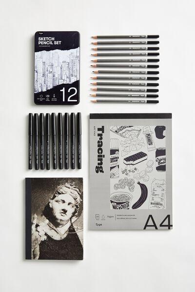 Art Gift Set, SKETCH ART SET