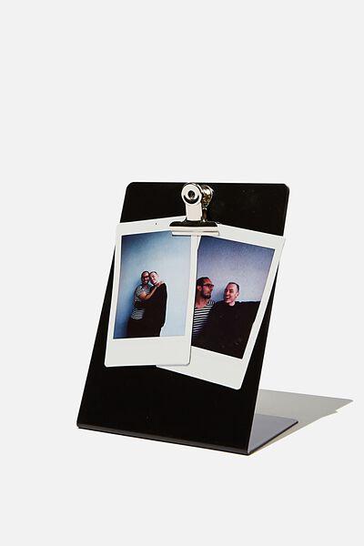Easel Clip Frame, MATTE BLACK