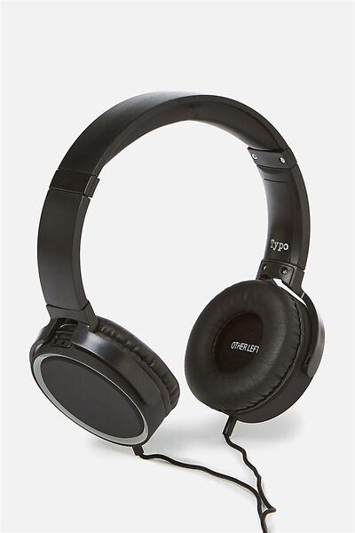 Reverb Headphones, MATTE BLACK WITH GREY