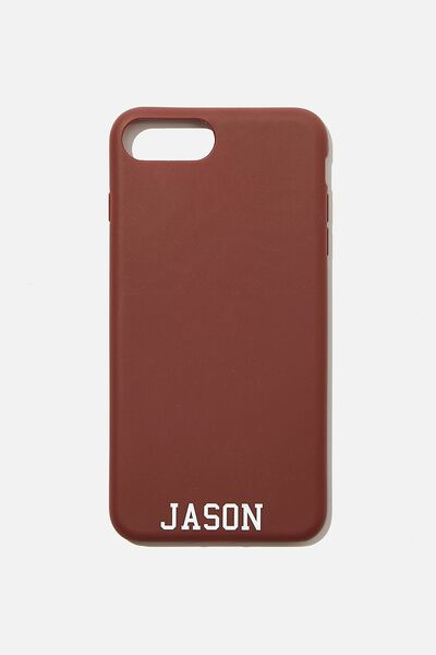 Personalised Phone Case 6,7,8 Plus, MULBERRY