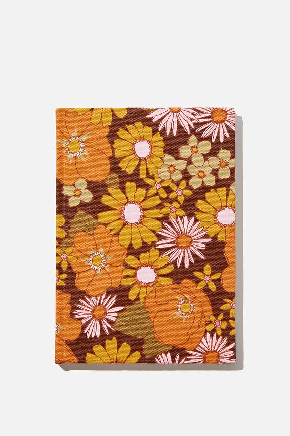 A5 Oxford Notebook, STEVIE FLORAL