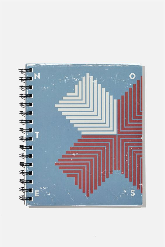 A5 Campus Notebook Recycled, NOTES