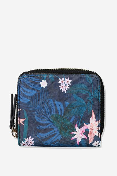Mini Wallet, JUNGLE FLORAL