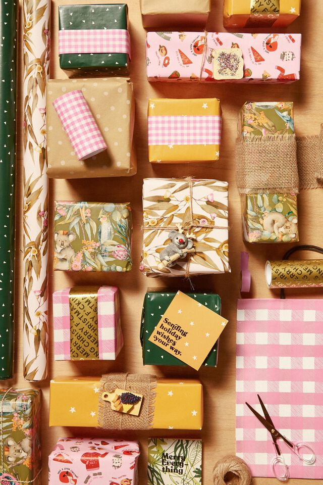 Wrapping Paper Band Rolls, SPARE