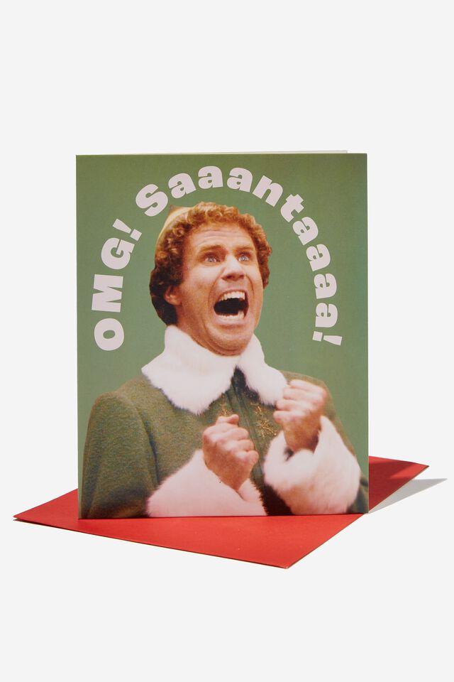 Elf Christmas Card 2021, LCN WB ELF