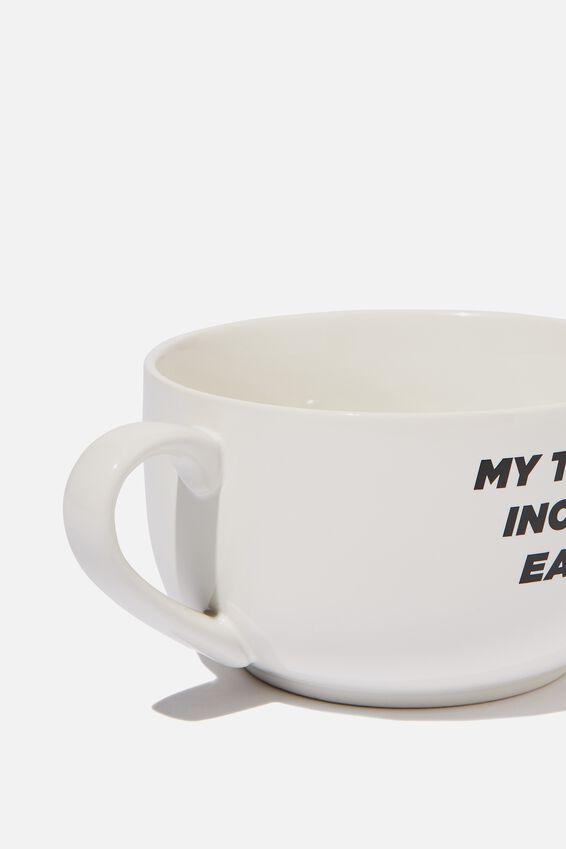 Big Mug Bowl, TALENTS INCLUDE EATING