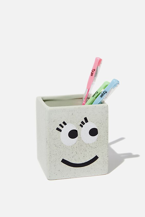 Pen Holder, SMILEY FACE
