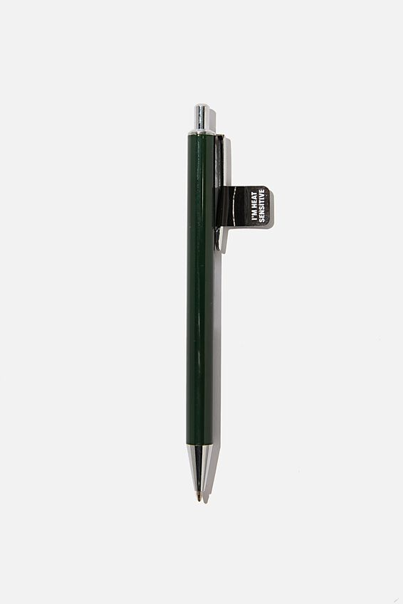 Colour Changing Pen, GREEN WITH WHITE