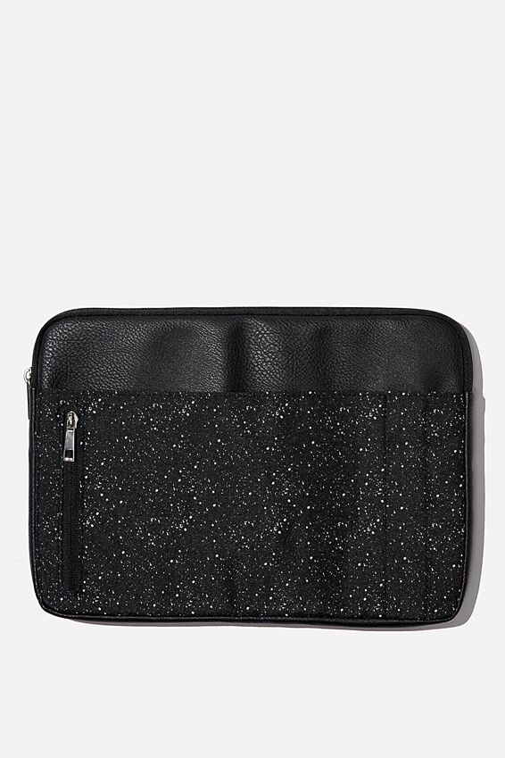 Take Charge Laptop Cover 13 inch, BLACK SPLATTER