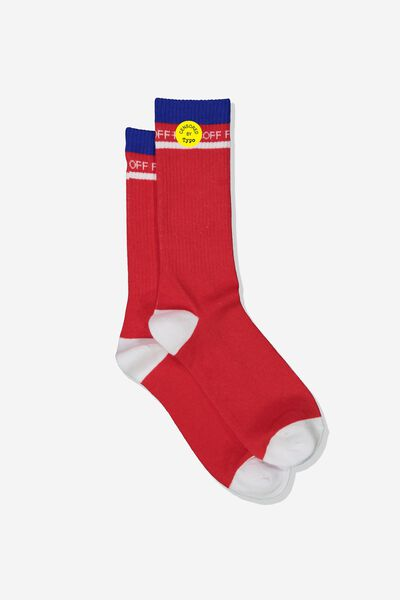 Mens Novelty Socks, F OFF!!