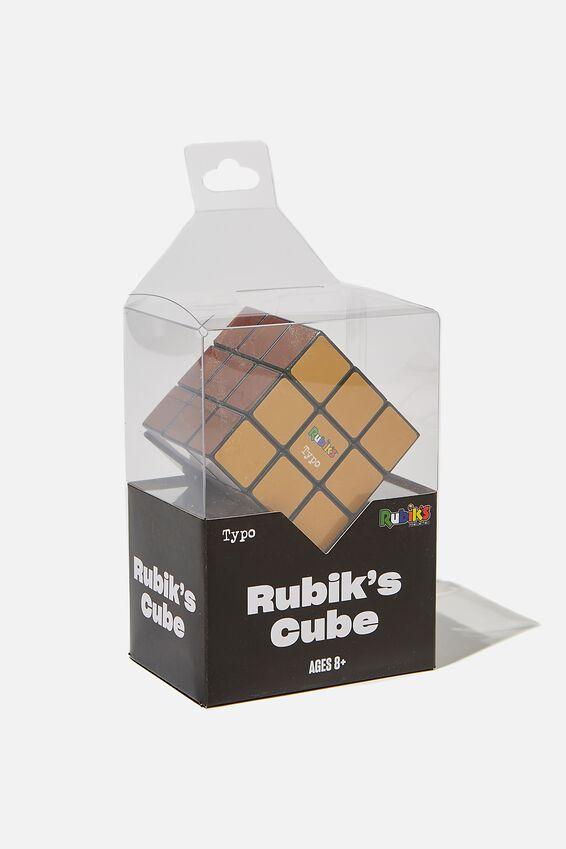 Rubiks Cube 3X3, EARTHY TONES