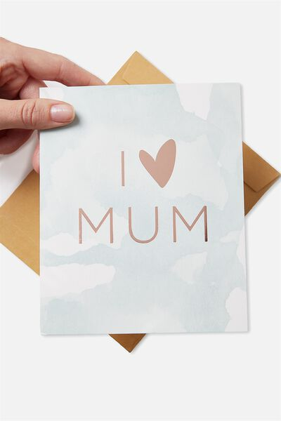 Mothers Day Cards 2018, I HEART MUM