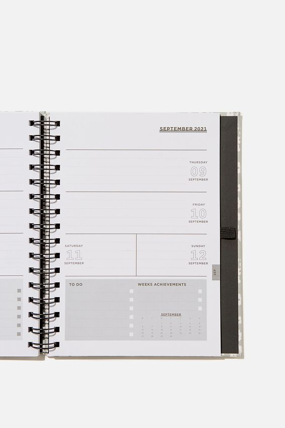 Student Planner 2021, CHERRY BLOSSOM COOL GREY