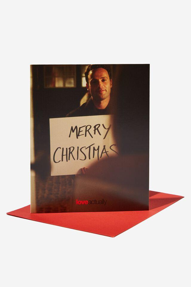 Love Actually Christmas Card 2021, LCN UNI LOVE ACTUALLY
