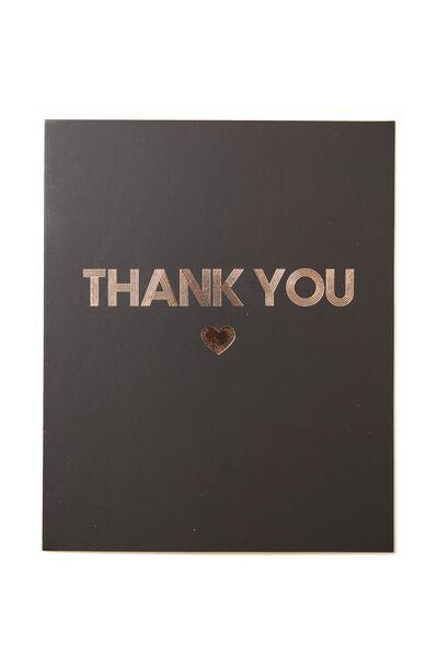 Thank You Card, THANK YOU HEART