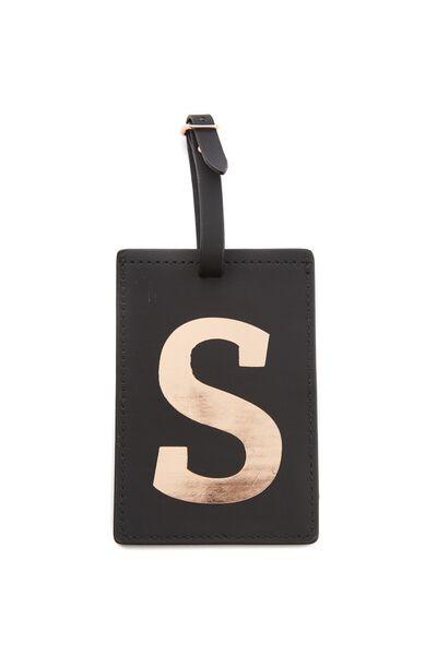 Alpha Luggage Tag, S