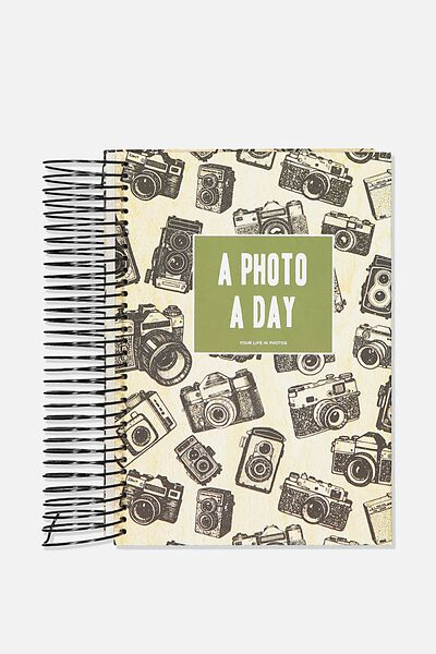 A5 Fashion Activity Journal, PHOTO JOURNAL