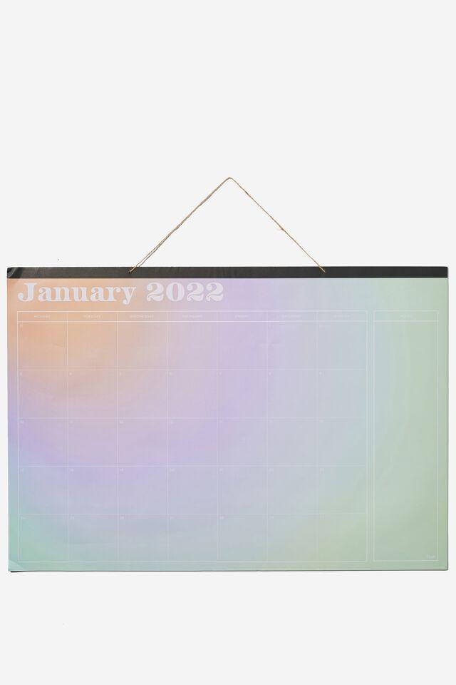 2022 A1 Hanging Calendar, SOLARISED
