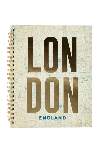 A4 Campus Notebook - 240 Pages, LONDON