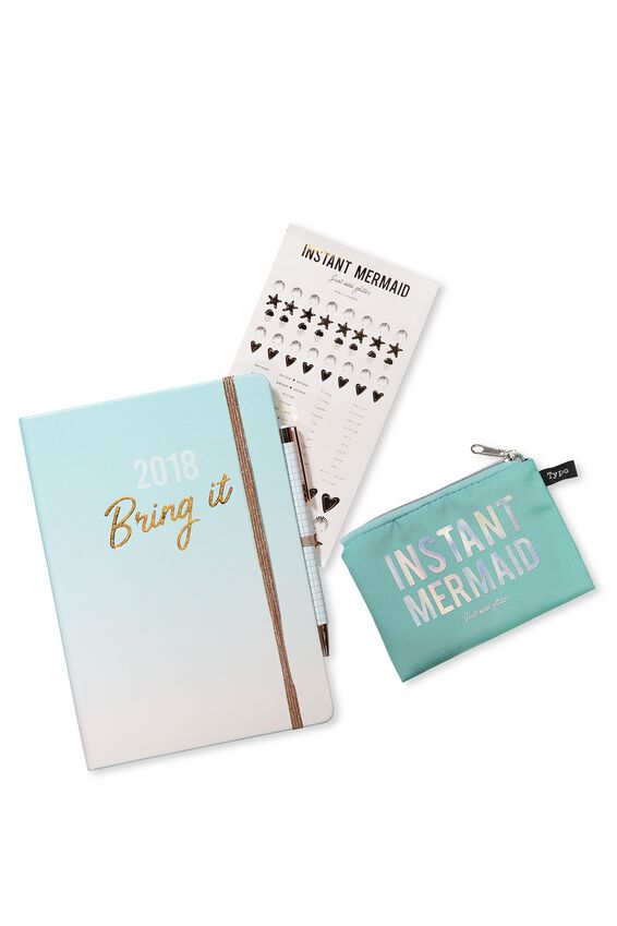 Gift Set - 2018 Planner Kit, OMBRE
