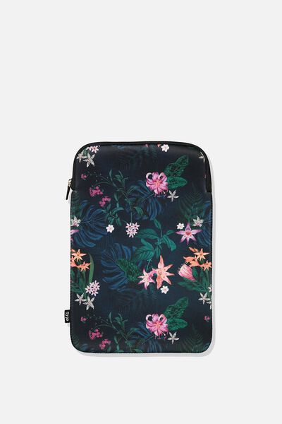 Laptop Sleeve 13 Inch, JUNGLE FLORAL